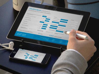 A medical calculator – iPad