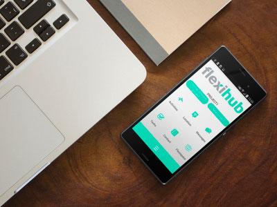 FlexiHub – a project management app