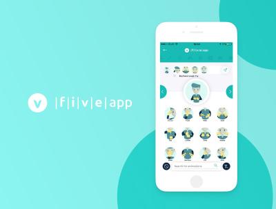 Five App – A messenger for the deaf