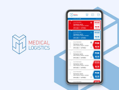 Medical Logistics - An application for medical couriers